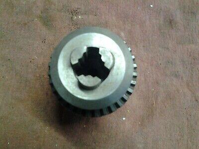 Jacobs 36kd Positive Clutch Drive Drill Chuck Key .18-.80 Cap 3 Taper 20mm