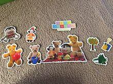 Playschool magnet set Hamersley Stirling Area Preview