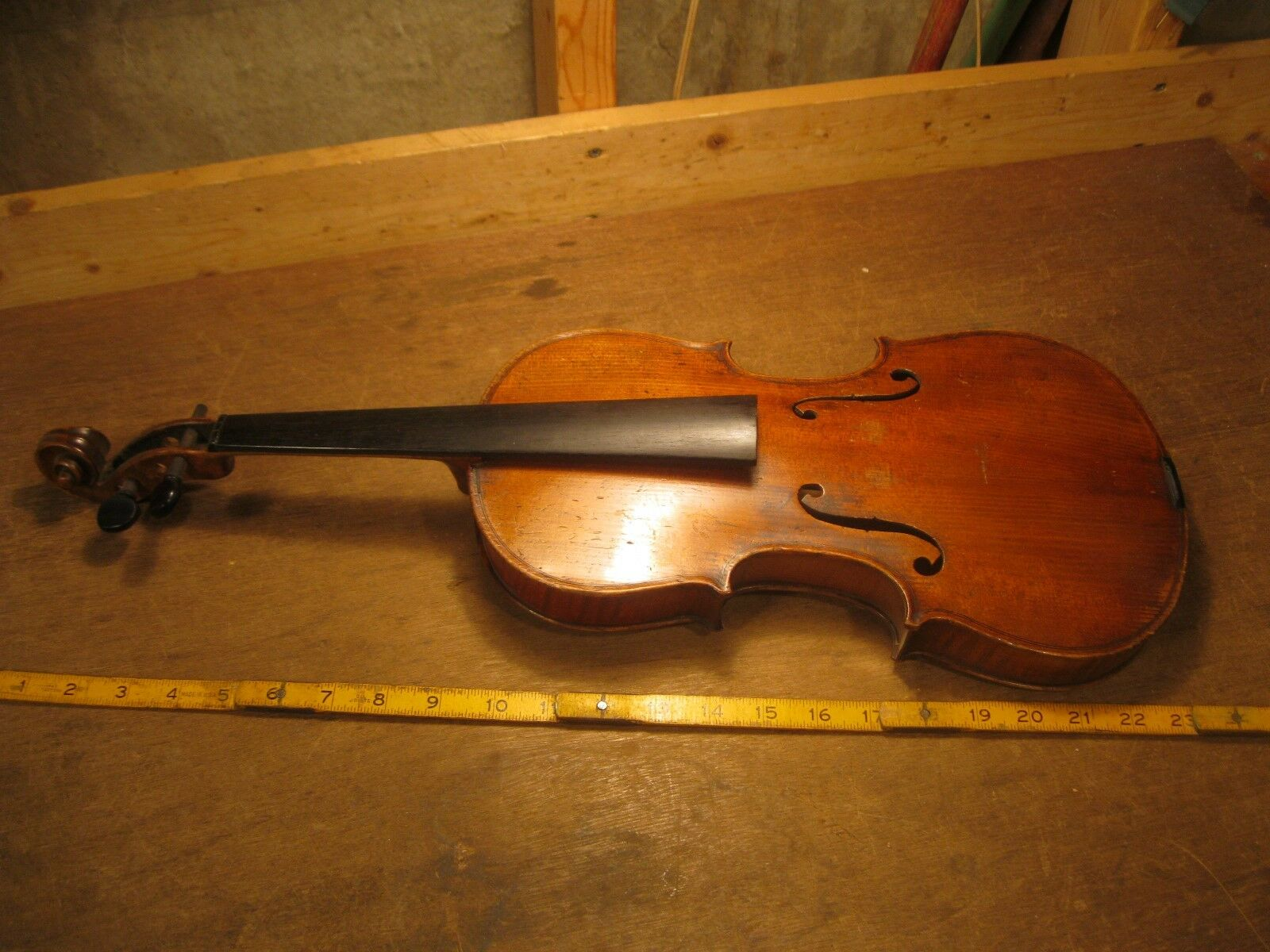 antique violin Antonius Stradivarius COPY Germany German fine string instrument