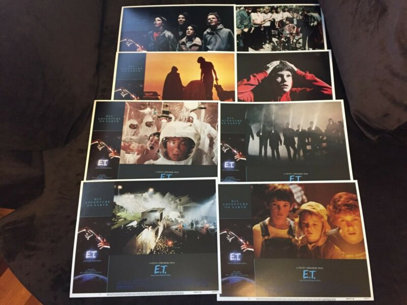 E.T. Lobby Cards in Excellent Condition