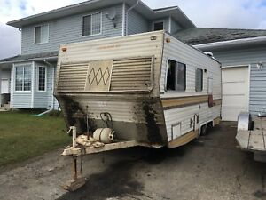 1970's tandem axel travel trailer