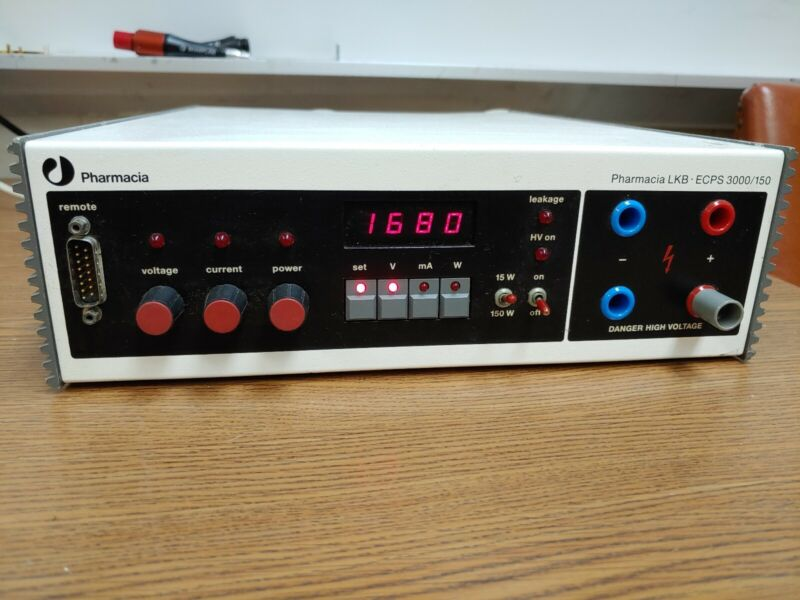 Pharmacia ECPS 3000/150 Constant Electrophoresis High Voltage Power Supply