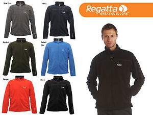 REGATTA-MENS-FULL-ZIP-FAIRVIEW-FLEECE-JACKET-ANTI-PILL-CHOOSE-SIZE-COLOUR
