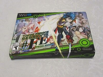 Nintendo Wii U Tokyo Mirage Sessions #FE Fire Emblem Video Game