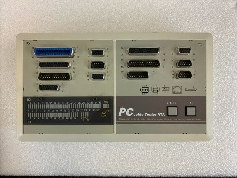 PC Cable Tester ATA