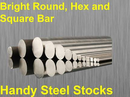"""Bright Round Bar Cut To Size Lathe CNC 8-65mm 3/16 to 2"""""""