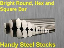 """Bright Round Bar Cut To Size Lathe CNC 8-65mm 3/16 to 2"""" Beenleigh Logan Area Preview"""