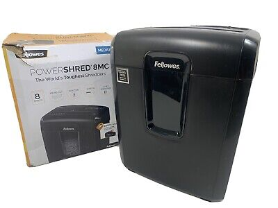 Fellowes Powershred 8mc Micro-cut Shredder
