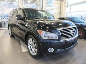 2013 Infiniti QX56 7 SEATER, PST PAID, HEATED & COOLED LEATHE...