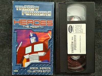 VHS Transformers - Heroes: The Rebirth (VHS, 2001)