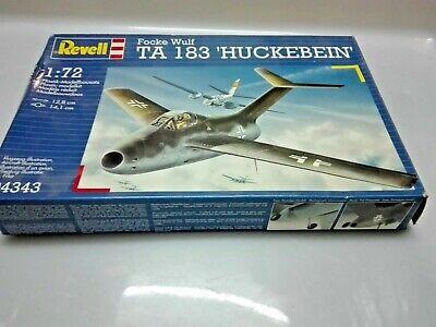 FOCKE WULF TA 183 HUCKBEIN 1/72 SCALE REVELL