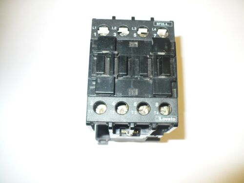 1 pc. Lovato BF25.4.. Contactor, 40 Amp, 120V Coil, Used