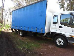 Isuzu 2001 Tautliner 10 pallet or 6.4 metre/ two ton tail lift Swan View Swan Area Preview