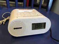 Sony ICF-C05IP 30 Pin iPhone iPod Clock Radio Alarm Speaker Dock White