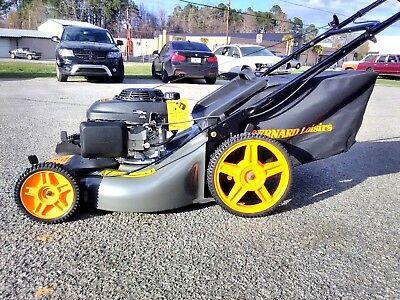 Husqvarna 21-Inch 160cc Honda GCV160 Gas Powered Push Lawn Mower with bagger