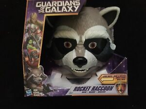 Br new 'Guardians of the Galaxy' 'Rocket Raccoon' animated mask