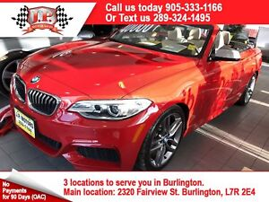 2015 BMW 2 Series M235i, Manual, Navi, Leather, Convertible, 40,