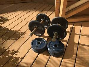Weights 20 Kg including Barbell and Dumbbells Frenchs Forest Warringah Area Preview