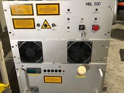 Spektrum Laser Ag Berlin Mbl 500 Fiber Laser Pulse Energy 5j 1064nm Set