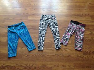 Nike pro, Justice and Hurley leggings