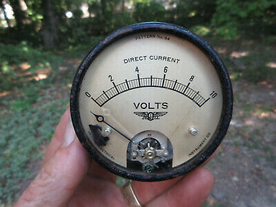 Vintage Jewell Volt Meter Direct Current Pattern No. 54