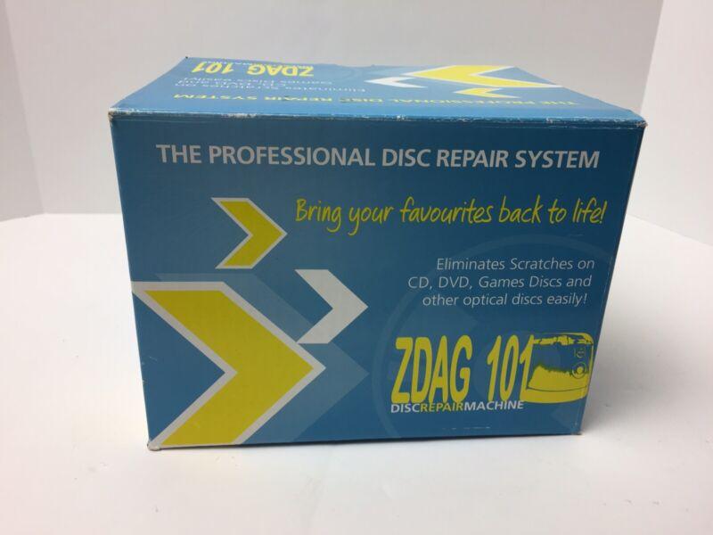 Simo Disc Repair Machine DSR-R1 ZDAG 101 DVD Video Game CD Bluray 100+ Pads NEW