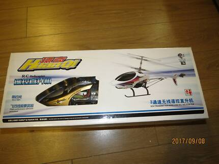 Huanqi 827 RC Helicopter Wireless 3 Channel Toy Mode