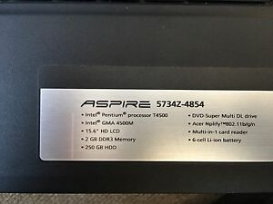 Acer laptop in mint condition