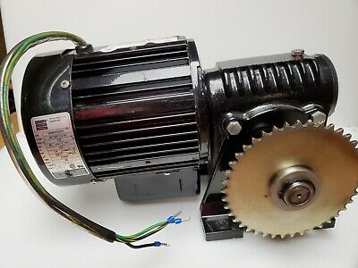 Bodineelectric Gear Speed Reduction Motor 120 Ac 14 Hp. 96 Rpm . 4.6a
