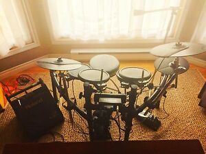 Roland TD-4's with PM-10 Monitor