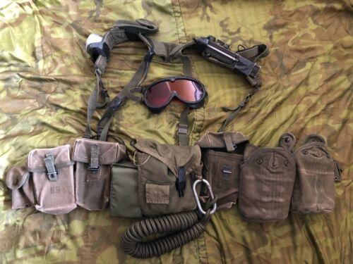 RARE USAF 1970 son tay  raiders harness set vietnam war  anprc88