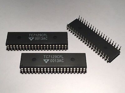 Tc7129cpl - Integrated Circuit - Dip 40 New