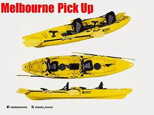 Double Sit-On Fishing Kayak 3.8M incl Rod Holders 2 Seats,Paddle Wantirna South Knox Area Preview