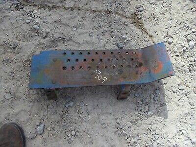 Ford 601 Work Master Tractor Original Left Foot Rest Platform Step Brackets