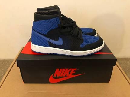 Jordan 1 Royal Blue Flyknit US9.5
