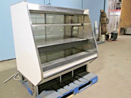 """BARKER CO"" COMMERCIAL HEATED LIGHTED SELF-SERVE HOT FOOD/CHICKEN MERCHANDISER"