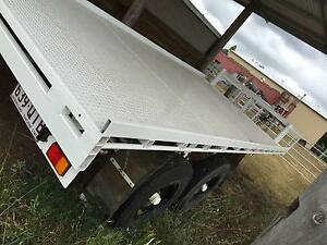 Gooseneck Flat Top Trailer Toowoomba Toowoomba City Preview
