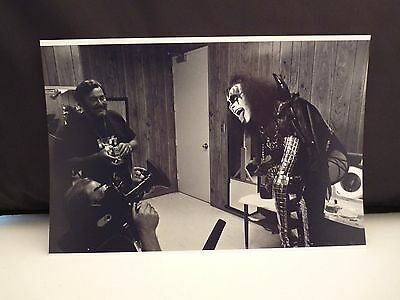 Kiss 1977 LA Forum Gene Simmons Backstage 8x12 Photo #18 From Original Negative