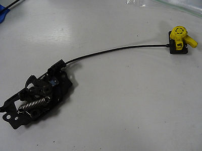 Ford focus bonnet release latch catch WITH handle genuine 2011 2017
