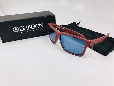 New DRAGON Matte Redwood METHOD Sunglasses with Blue Ion (Method Sunglasses)