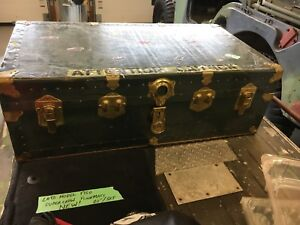 Steamer trunk and games