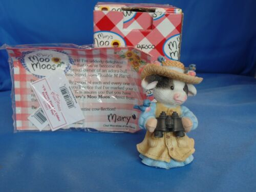 """Vintage Mary's Moo Moos 1998 """"I'll Never Find An-Udder Friend Like You"""" Enesco"""