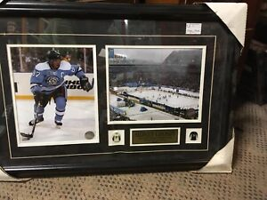 Sidney Crosby framed photos and pins