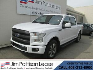 2017 Ford F-150 3.5L ECO-Boost 4X4 Leather Crew Cab w/NAV & SYNC