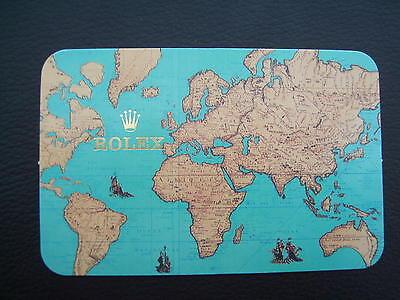 ROLEX KALENDER VON 1997 / 98 - RARE VINTAGE ORIGINAL CALENDAR - NOS