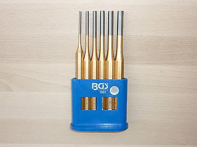 Splinttreiber-Satz 6-tlg Splintentreiber 150mm 3-8mm Durchschlag Durchtreiber
