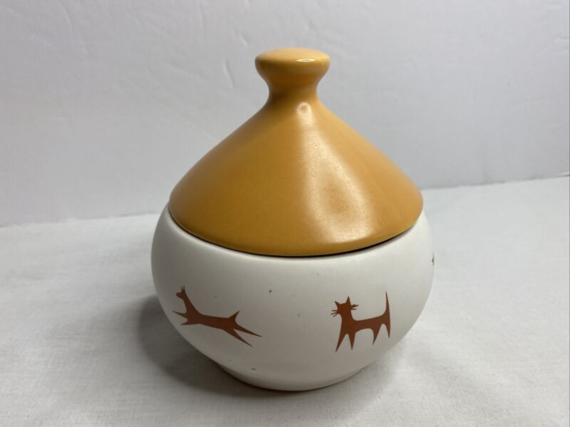 UNIPET UPJOHN COYOTE BOWL Dog Or Cat Bowl With Top & Bell