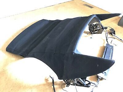 04-10 BMW 650i & 645Ci 07-10 M6 Convertible Roof Top Assembly BLACK Good -