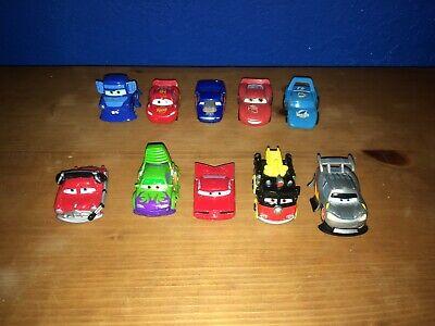 Lot of 10 MINI Cars Disney/Pixar Lightning McQueen