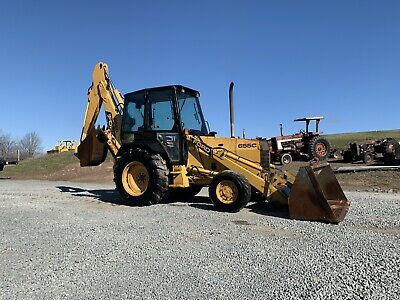 Ford 655c Loader Backhoe